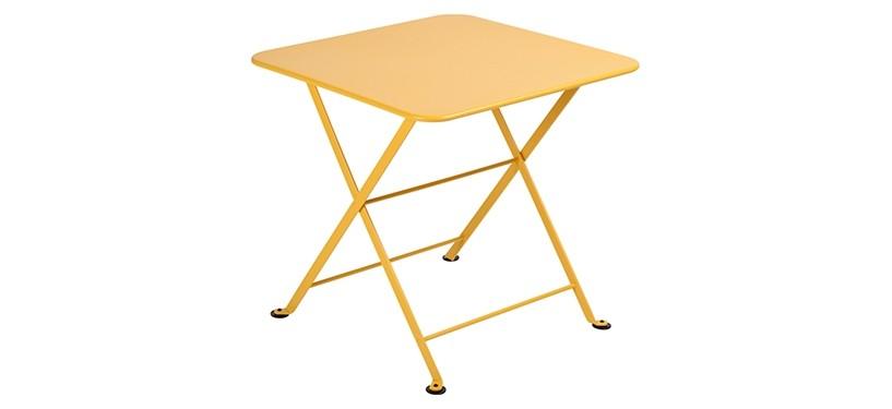 Fermob Tom Pouce Low Table · 50 x 50 · Honey