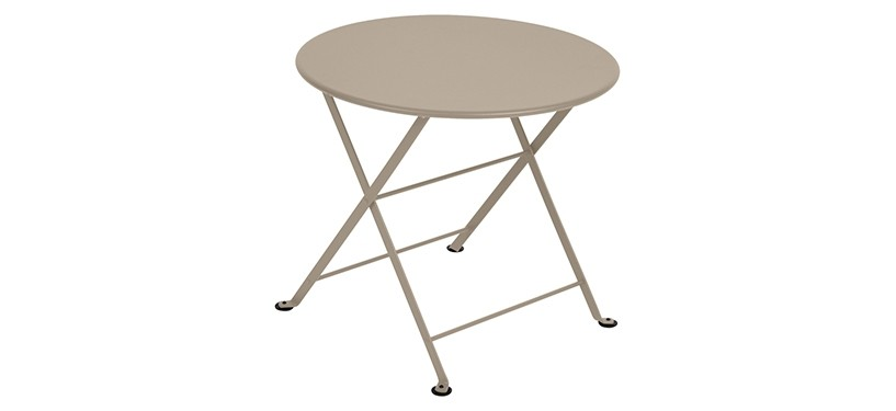 Fermob Tom Pouce Low Table · Ø 55 · Nutmeg