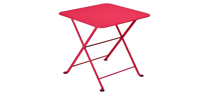 Fermob Tom Pouce Low Table · 50 x 50 · Pink Praline