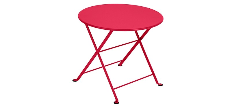 Fermob Tom Pouce Low Table · Ø 55 · Pink Praline