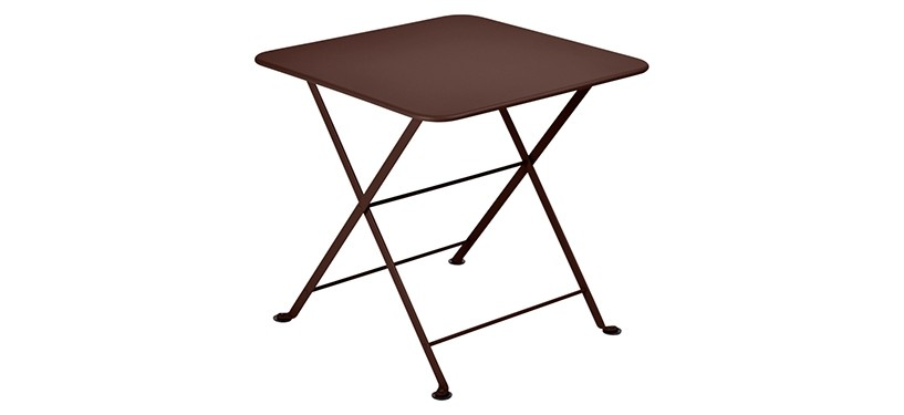 Fermob Tom Pouce Low Table · 50 x 50 · Russet
