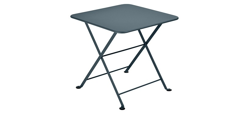 Fermob Tom Pouce Low Table · 50 x 50 · Storm Grey