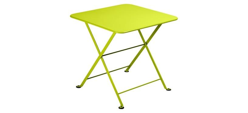 Fermob Tom Pouce Low Table · 50 x 50 · Verbena