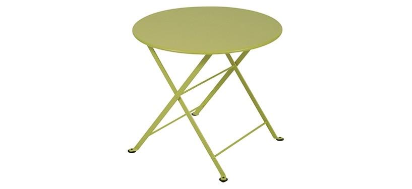 Fermob Tom Pouce Low Table · Ø 55 · Verbena