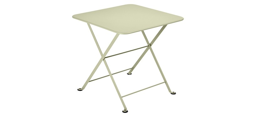 Fermob Tom Pouce Low Table · 50 x 50 · Willow Green