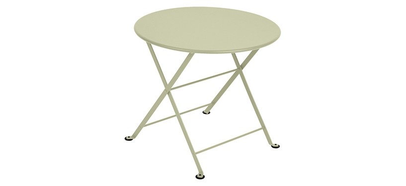 Fermob Tom Pouce Low Table · Ø 55 · Willow Green