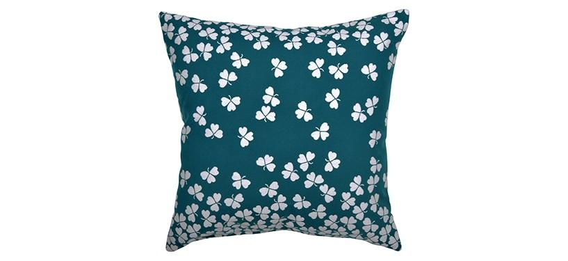Fermob Tréfle Cushion 2 · Duck Blue