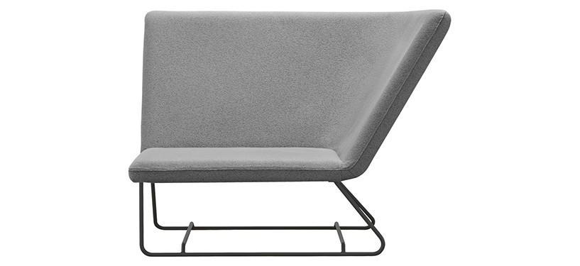 Fermob Ultrasofa Armchair · Anthracite/Pearl Grey