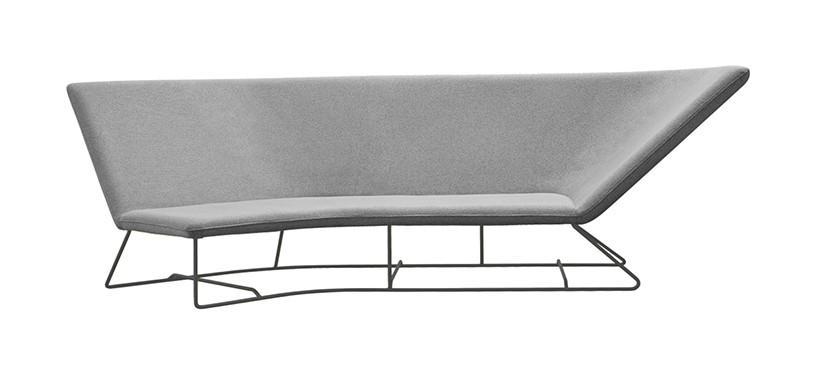 Fermob Ultrasofa Sofa · Anthracite/Pearl Grey