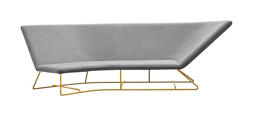 Fermob Ultrasofa Sofa · Honey/Pearl Grey