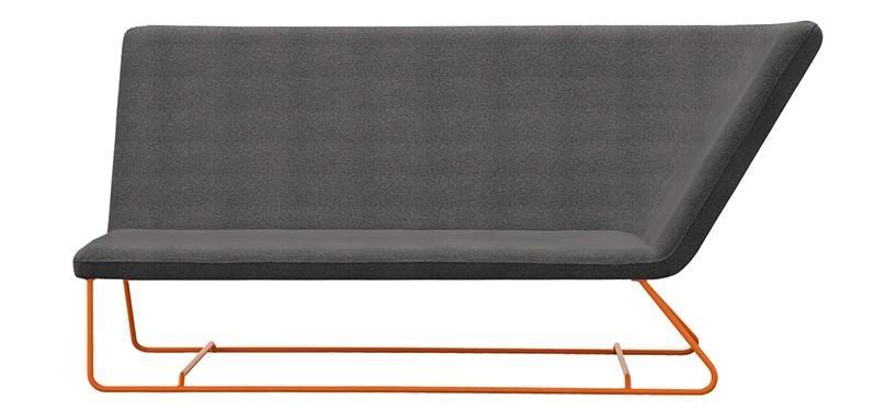 Fermob Ultrasofa Two-seater Sofa · Carrot/Iris Green