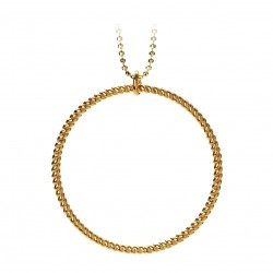 Pernille Corydon Big Twisted Necklace · Guld