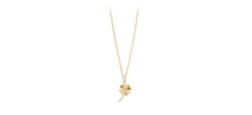 Pernille Corydon Clover Necklace · Guld