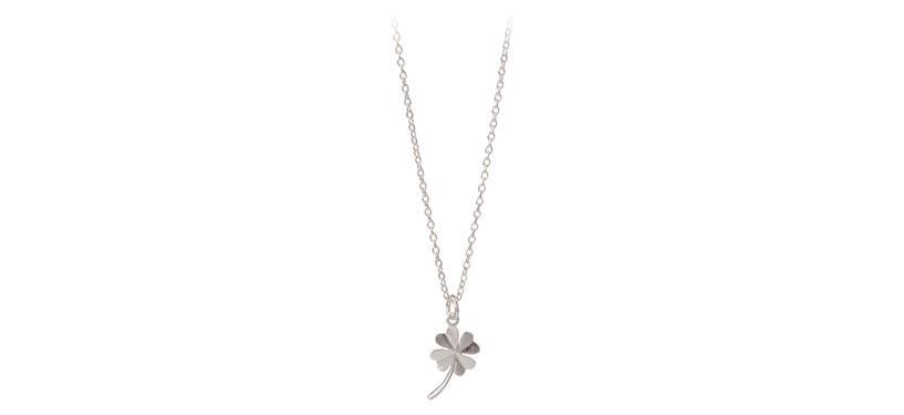 Pernille Corydon Clover Necklace · Sølv