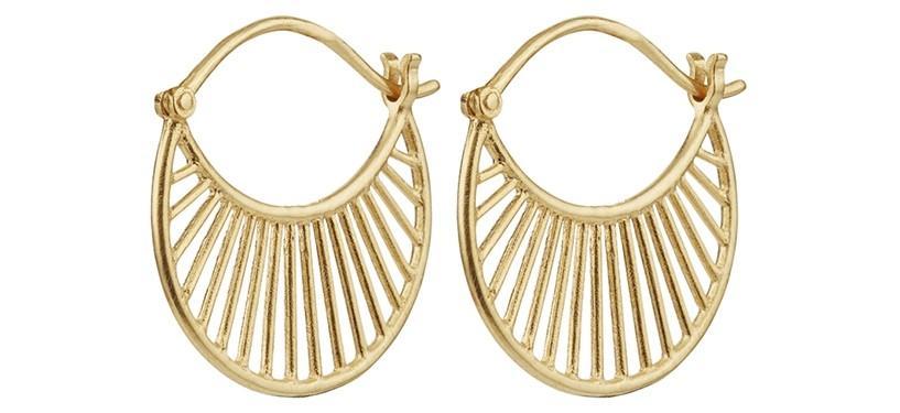 Pernille Corydon Daylight Earrings · Guld