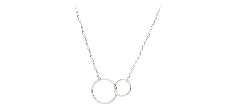 Pernille Corydon Double Plain Necklace · Sølv