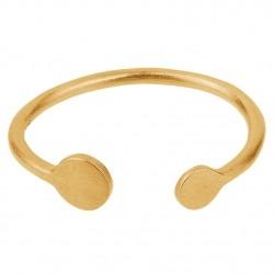 Pernille Corydon Mini Coin Ring · Guld · 52