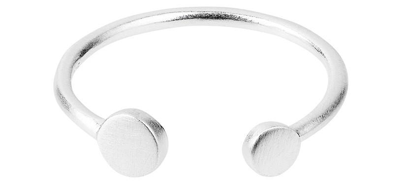 Pernille Corydon Mini Coin Ring · Sølv · 52