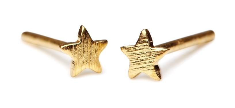 Pernille Corydon Mini Star Earstick · Guld