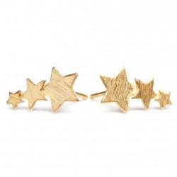 Pernille Corydon Shooting Star Earstick · Guld