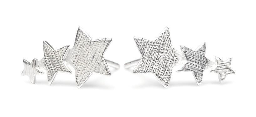 Pernille Corydon Shooting Star Earstick · Sølv