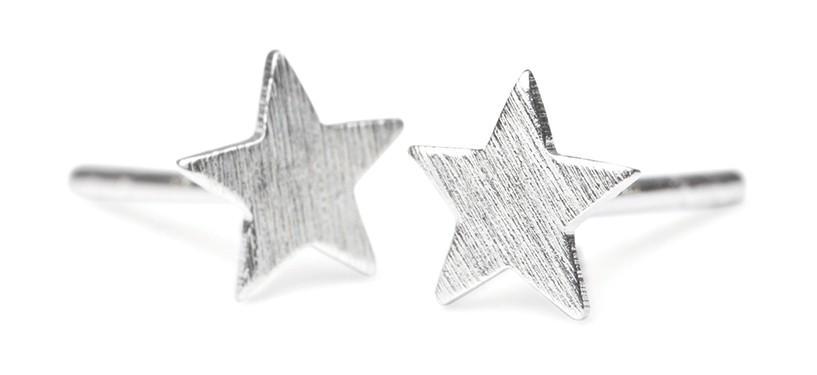 Pernille Corydon Small Star Earstick · Sølv
