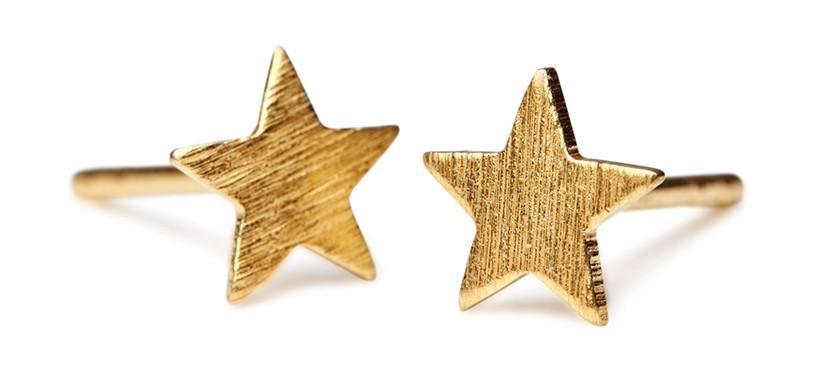 Pernille Corydon Small Star Earstick · Guld