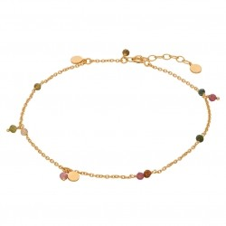 Pernille Corydon Afterglow Pastel Anklet · Guld