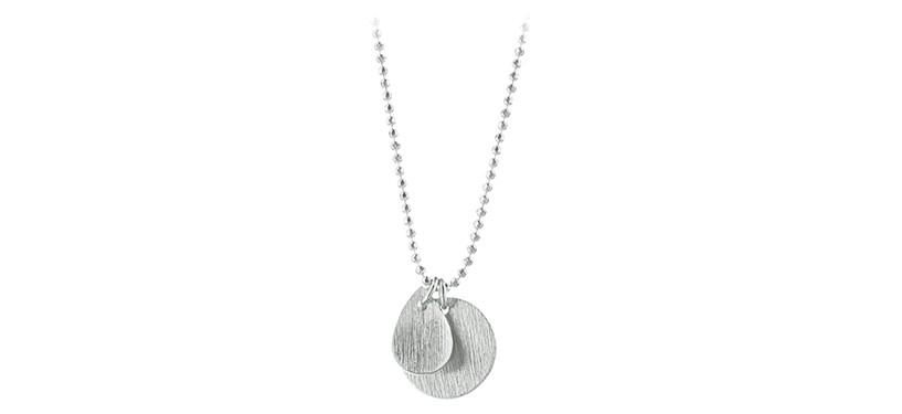 Pernille Corydon Coin & Drop Necklace · Sølv