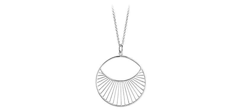 Pernille Corydon Daylight Necklace Short · Sølv
