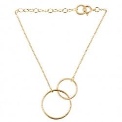 Pernille Corydon Double Plain Bracelet · Guld