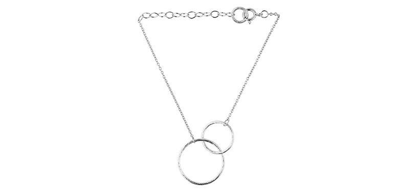 Pernille Corydon Double Plain Bracelet · Sølv