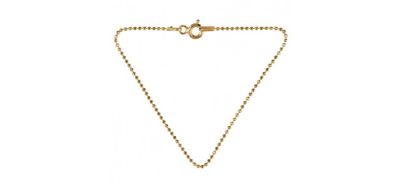 Pernille Corydon Facet Plain Bracelet · Guld · 16 cm.