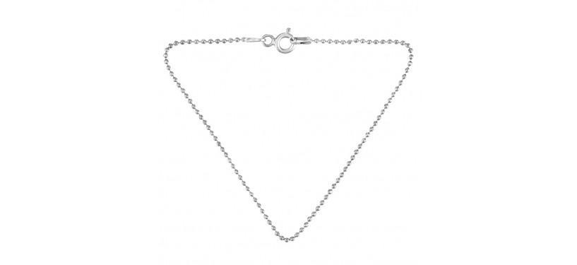 Pernille Corydon Facet Plain Bracelet · Sølv · 16 cm.