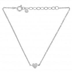 Pernille Corydon Heart Bracelet · Sølv