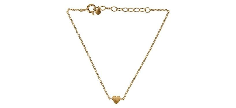 Pernille Corydon Heart Bracelet · Guld