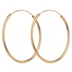 Pernille Corydon Mini Plain Hoops · Guld