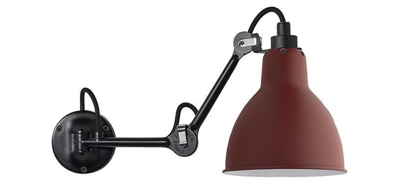 Lampe Gras No. 204 · Rød