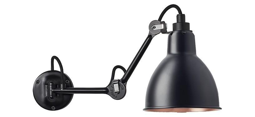 Lampe Gras No. 204 · Sort/kobber