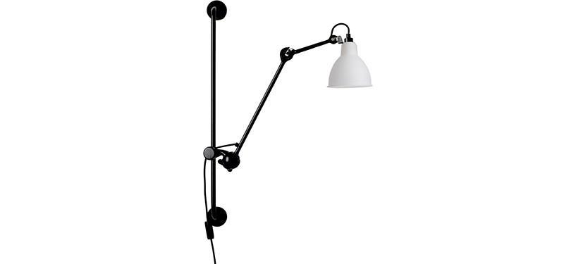 Lampe Gras No. 210 · Glas · Rund