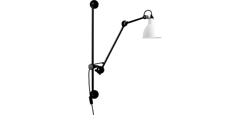Lampe Gras No. 210 · Hvid · Rund