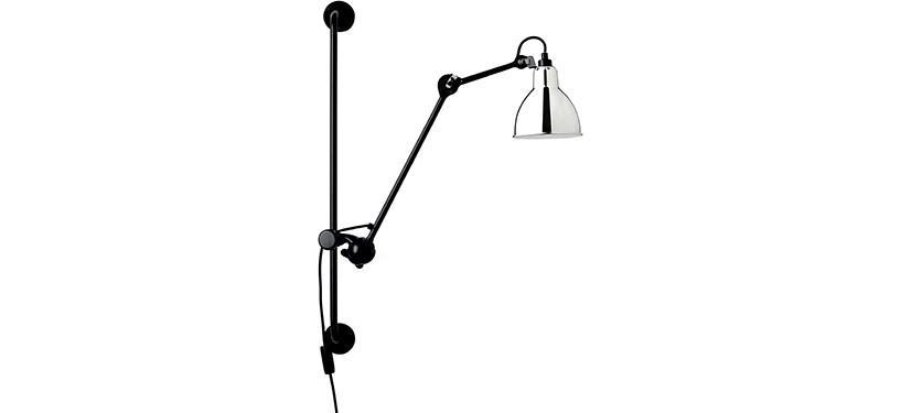 Lampe Gras No. 210 · Krom · Rund