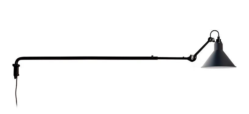 Lampe Gras No. 213 · Blå · Rund