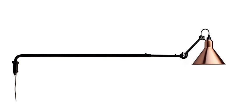 Lampe Gras No. 213 · Kobber · Rund