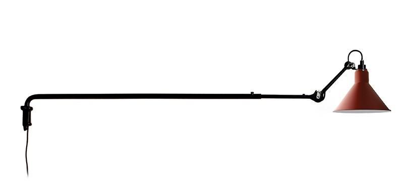 Lampe Gras No. 213 · Rød · Rund