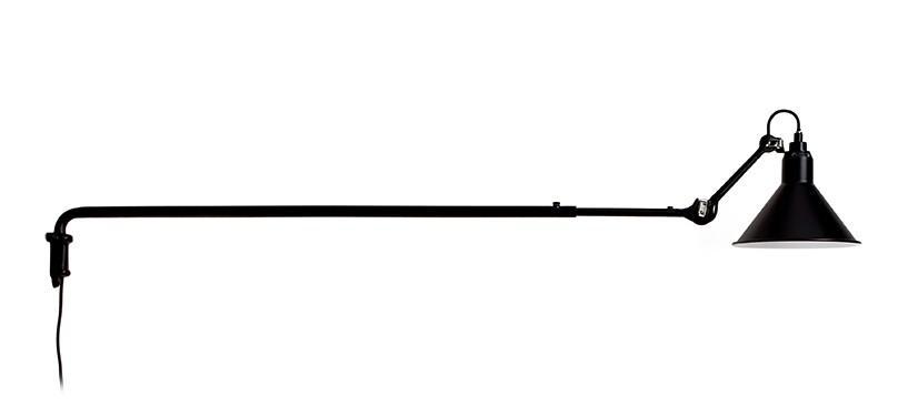 Lampe Gras No. 213 · Sort · Rund