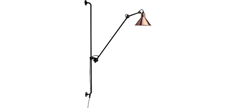 Lampe Gras No. 214 · Kobber