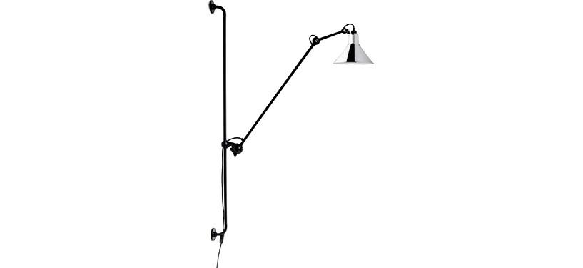 Lampe Gras No. 214 · Krom
