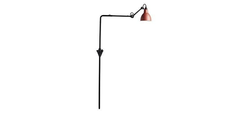 Lampe Gras No. 216 · Rød · Rund