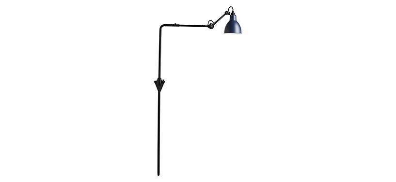 Lampe Gras No. 216 · Blå · Rund